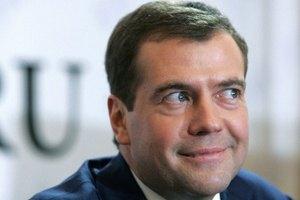 Медведєв: Росія продовжить газові переговори з Києвом лише у разі оплати частини боргу