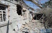 Боевики в субботу активно обстреливали позиции возле Авдеевки