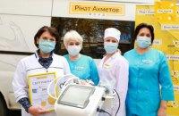 Более 180 аппаратов ИВЛ от Фонда Рината Ахметова уже поступили в государственные больницы страны