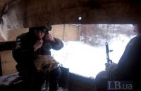 """Окупанти учора десять разів порушили """"тишу"""" на Донбасі"""