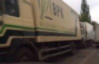 Біля кордону з ДНР затримали ще 50 машин з продуктами