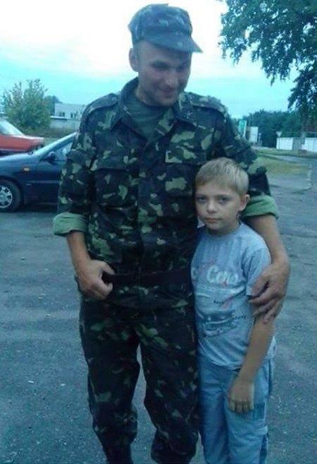 Олексій Віхляєв з сином