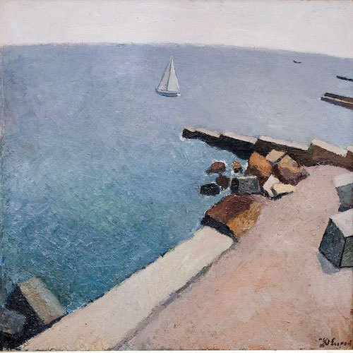 """Юрій Єгоров, """"Море парус"""", 1988"""