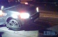 У Києві поліція прострелила колеса порушнику на Range Rover