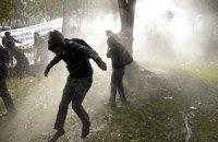 В Чили полиция силой разогнала недовольных школьников