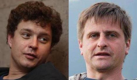 Юрій Грузинов і Ярослав Пілунський