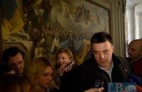 "Тягнибок: Рада Майдана поддержала ""мирное"" соглашение с Януковичем"