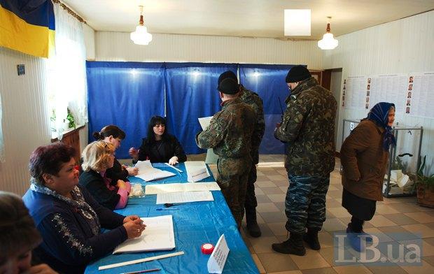Тут голосовали в том числе и дестантники 92-й бригады из Счастья