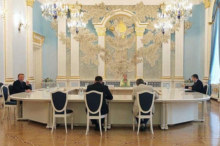 Заседание контактной группы в Минске 5 сентября 2014.