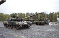 У міжнародних військових навчаннях в Естонії задіють танки