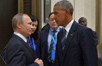 Обама заявил Путину о планах сохранить санкции против РФ
