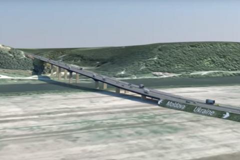 Украина планирует построить мост через Днестр в Молдову до 2023 года