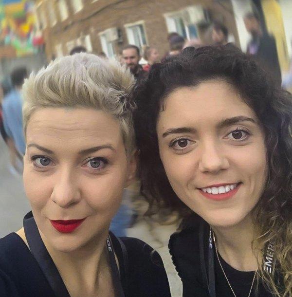 Марiя Колеснікова i Тетяна Хомич