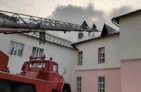 На Прикарпатье произошел пожар в инфекционном отделении райбольницы