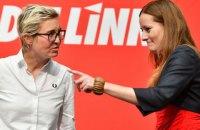 Ліву партію Німеччини вперше очолять дві жінки