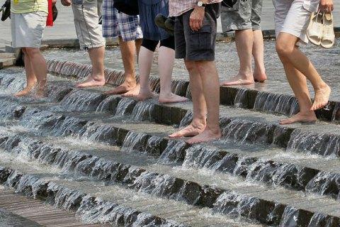 В Киеве зафиксировали самый жаркий день в году