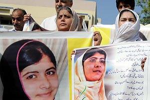У Пакистані обіцяють $105 тис. за нападників на 14-річну правозахисницю