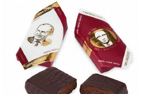 В России детям подарили на Новый год конфеты с водкой, перцем и портретом Путина