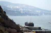 Турецький суховантаж сів на мілину біля Ялти