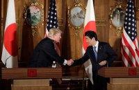 """Трамп сообщил о """"большом прогрессе"""" в отношениях с Японией"""