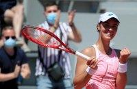 Українка Калініна дебютувала в топ-100 WTA