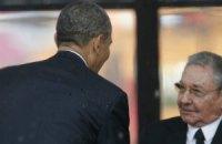 Обама обговорить з Кастро відновлення дипвідносин між США і Кубою