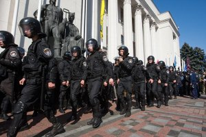 Міліція просить не встановлювати наметів під Радою