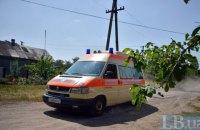 На территории школы в Донецкой области прогремел взрыв, пострадал охранник