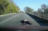В Днепропетровской области из скорой помощи на ходу выпал пациент