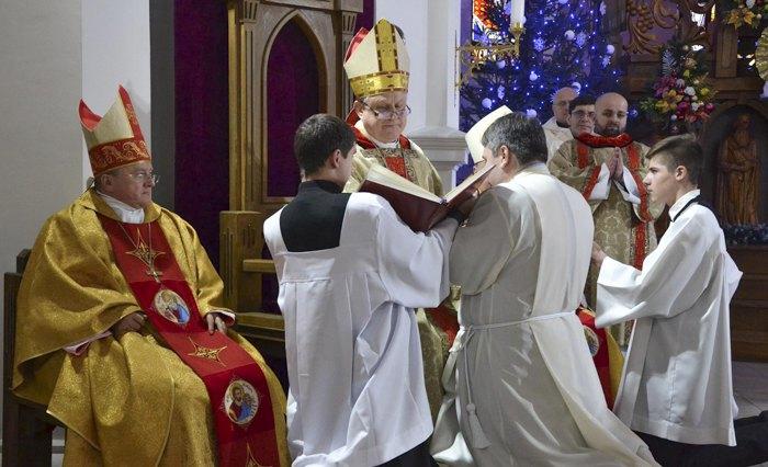 Молитва перед рукоположением во диаконы