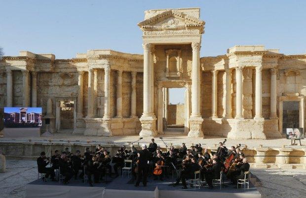 Римский амфитеатр в Пальмире