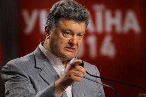 Введення санкцій проти Росії залежить від її дій, - Порошенко