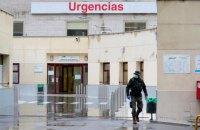 Количество инфицированных в Испании за сутки выросло на 9 тысяч человек