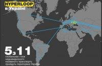 """Транспортная стратегия Украины предусматривает мировое лидерство в развитии """"гиперлупа"""""""
