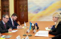 Глава Харьковской ОГА встретилась с Управляющим директором ЕБРР в странах Восточной Европы и Кавказа