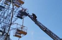 Семеро людей застрягли на оглядовому колесі в Кам'янці-Подільському