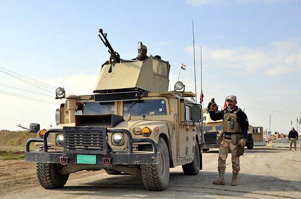 Иракская армия в Мосуле, 15 марта, 2017.