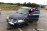Вісім людей постраждали у зіткненні п'яти автомобілів біля Херсону