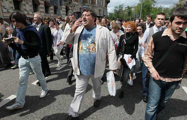 Дмитрий Быков(в центре)