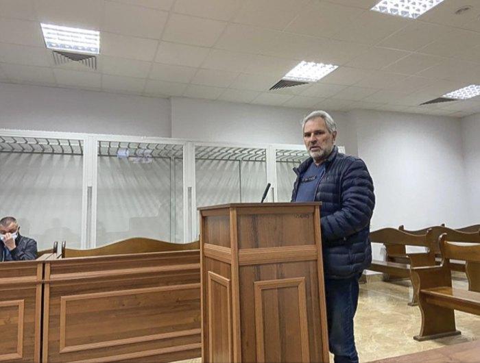 Сергій Вербицький свідчить у Шевченківському суді, 31 травня 2021 року.