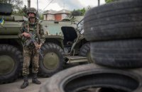 Бойовики вночі двічі обстрілювали блокпости з силовиками біля Слов'янська