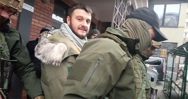 Задержание Александра Авакова