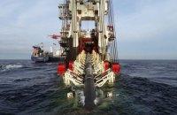 """""""Північний потік-2"""": російське судно почало роботи у водах Данії"""