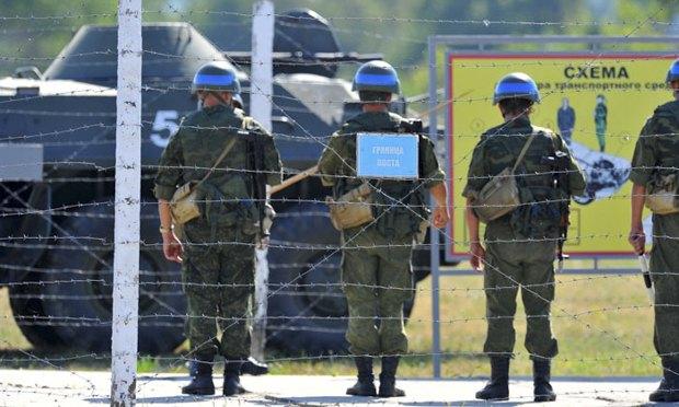 Российские *миротворцы* в ПМР