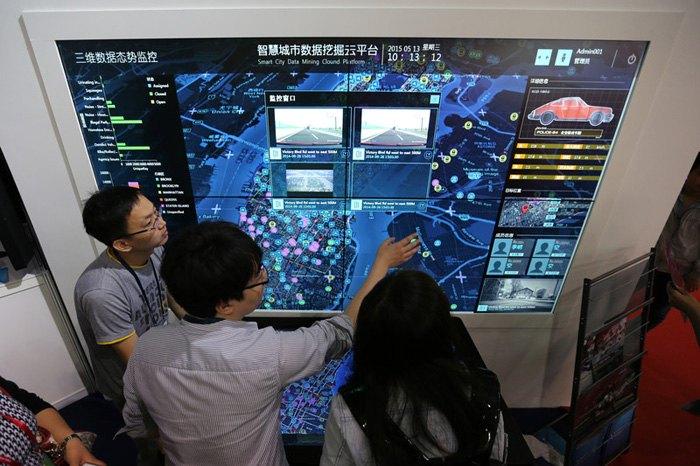 Система УМНЫЙ ГОРОД на международной выставке высоких технологий в Пекине