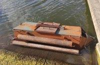 На Одещині прикордонники виявили підводний човен контрабандистів