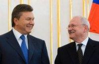 Президент Словакии приедет к Януковичу