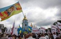 """У Києві відкрилися з'їзди """"Батьківщини"""" і """"УДАРу"""""""