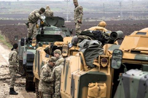Туреччина розширить військову операцію на весь кордон з Сирією