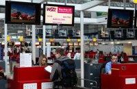 WizzAir скасував понад 20 рейсів з України у листопаді